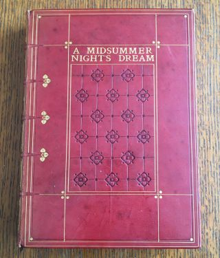 A MIDSUMMER NIGHT'S DREAM. RACKHAM. ARTHUR. Illustrates., SHAKESPEARE. WILLIAM
