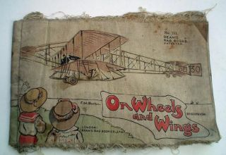 ON WHEELS AND WINGS. F. M. BARTON, No 111 of DEAN'S RAG BOOKS