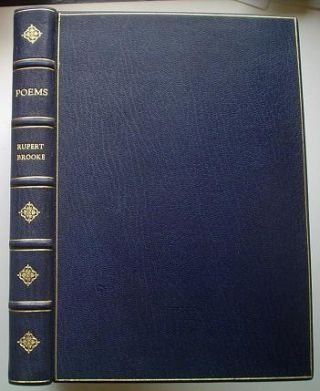 THE COLLECTED POEMS OF RUPERT BROOKE. BROOKE. RUPERT