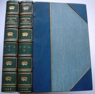 MEMOIRS OF COUNT GRAMMONT. HAMILTON. Count ANTHONY., Goodwin. Gordon. Edits