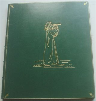THE PIED PIPER OF HAMELIN. GREENAWAY. KATE. Illustrates., BROWNING. ROBERT