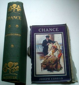 CHANCE. A Tale in two parts. SIGNED BY CONRAD.