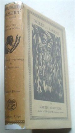 DESERT. A LEGEND. With Wood engravings by Eric Ravilious.