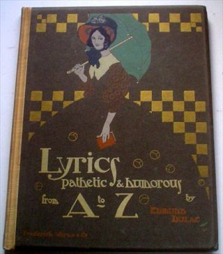 LYRICS PATHETIC & HUMOROUS, FROM A TO Z.