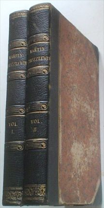 THE LIFE AND ADVENTURES OF MARTIN CHUZZLEWIT. With Illustrations by Phiz. DICKENS. CHARLES