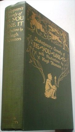 AS YOU LIKE IT. Shakespeare's Tragedy of. SHAKESPEARE. WILLIAM. Thomson. Hugh. Illustrates