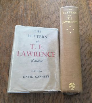 THE LETTERS OF T. E. LAWRENCE.