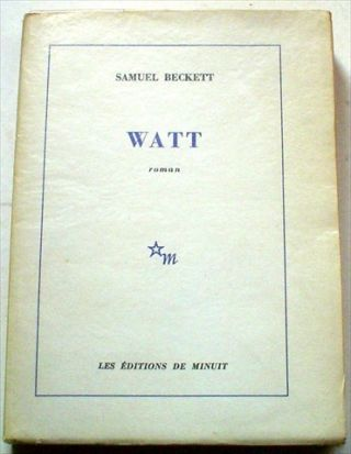 WATT. BECKETT. SAMUEL