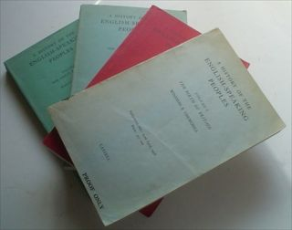 A HISTORY OF THE ENGLISH SPEAKING PEOPLES. Proof copies. CHURCHILL. WINSTON. S