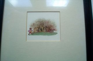 ORIGINAL WATER COLOUR ARTWORK FOR TALES FROM WIND IN THE WILLOWS. By Kenneth Grahame. BIRO. VAL.