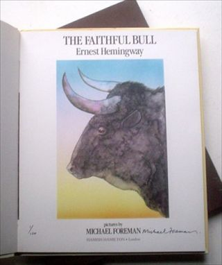 THE FAITHFUL BULL.