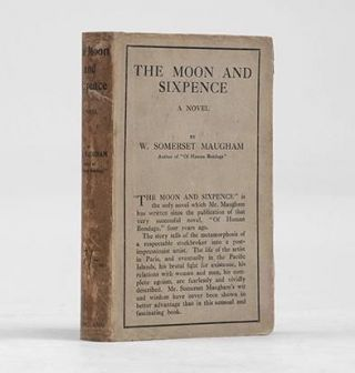 THE MOON AND SIXPENCE. A Novel. MAUGHAM. W. SOMERSET