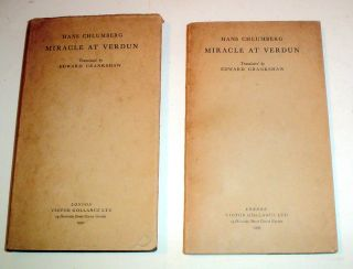 MIRACLE AT VERDUN. CHLUMBERG. HANS. -- CRANKSHAW. EDWARD. Translates