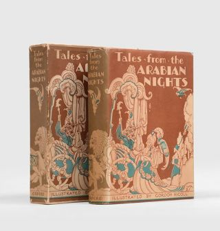 TALES FROM THE ARABIAN NIGHTS. With and introduction by E. O. Lorimer. NICOLL. GORDON. Illustrates
