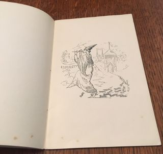 THE PAY OF THE PIED PIPER. Illustrations by Aubrey Beardsley. Reprinted from the 1888 Xmas Entertainment Programme of the Brighton Grammar School.