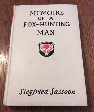 MEMOIRS OF A FOX-HUNTING MAN. With illustrations by William Nicholson.