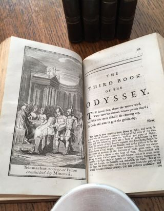 THE ODYSSEY OF HOMER. Translated from the Greek.