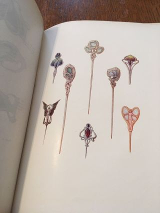 MODERN DESIGN IN JEWELLERY AND FANS. Special Winter Number of The Studio. 1901-1902. HOLME. C. EditS