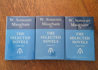 THE SELECTED NOVELS. MAUGHAM. W. SOMERSET
