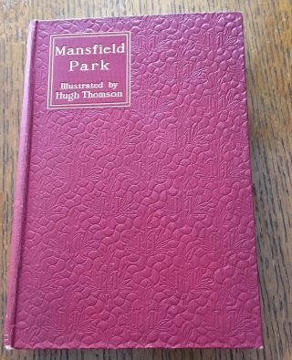 MANSFIELD PARK. With an introduction by Austin Dobson.
